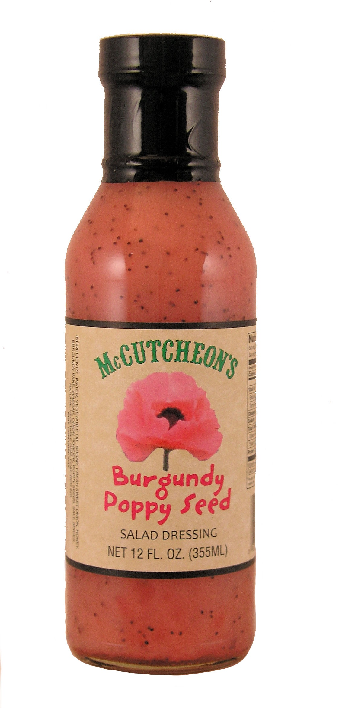 Burgandy Poppyseed Dressing 12/12 oz
