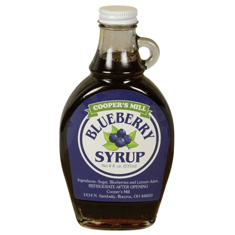 Blueberry Syrup     12/8oz