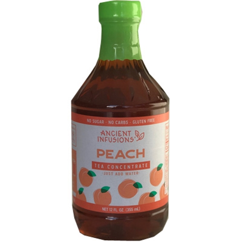 Peach Tea Concentrate 6/12 oz