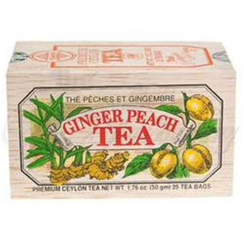 Ginger Peach Tea        6/25 teabags