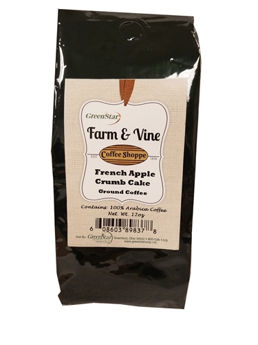 French Apple Crumb Cake Coffee    8/12oz
