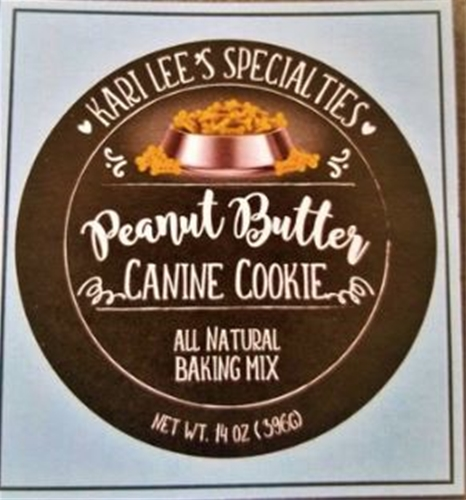 Make Your Own - Peanut Butter Dog Cookie Mix  12/c