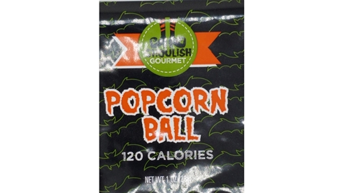 "Halloween Popcorn Ball   50 / 3"" balls"