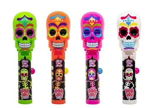 Day of the Dead PopUp Lollipop     12/case