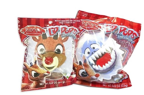 Rudolph Lip Pops   12/case